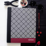 Hashtag Ruby Ring Folders _ Buy customised binders online by The Craftables