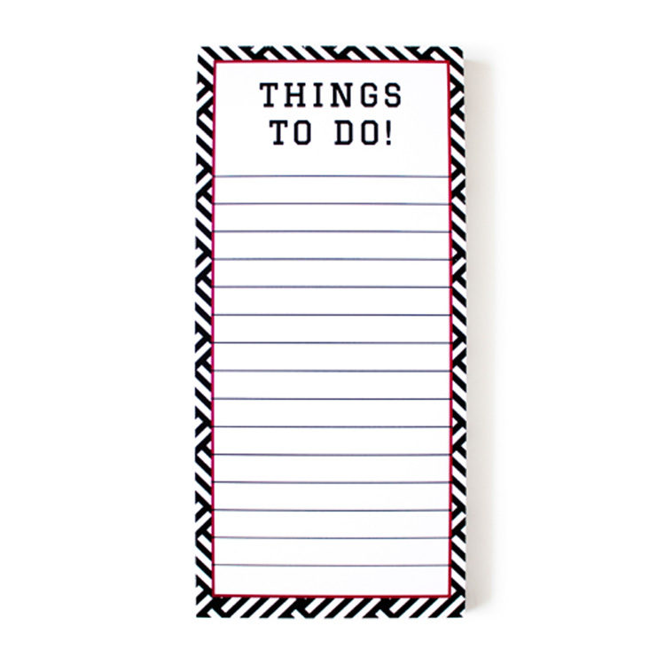 Hashtag Ruby To Do List } Magnetic notepads by The Craftables
