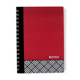 Hashtag Ruby notebook _hard cover notebook design by The Craftables