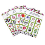 Jetsetter Pear Logo Quiz | travel paper games | printable games for parties by The Craftables