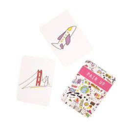 Jetsetter travel themed matching cards | memorization games | buy card games online | The Craftables