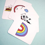 Jetstter Bubblegum matching cards | memorization games | matching card games for adults | The Craftables