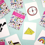 Jettsetter travel theme matching cards | fun card games | fun memory games for kids | The Craftables