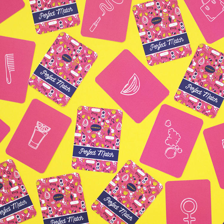 Ladylike Perfect Match Matching cards game idea for women | ladies games ideas | kitty party activities by The Craftables