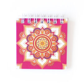 Mandala Mini Notepad _ Customised Stationery sets for gifting Mandala Wedding Stationery _ Ring Binders, Folders, Planners by The Craftables