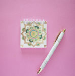Mandala Mini Notepad _ Personalised stationary _ Buy Notepads online by The Craftables