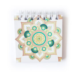 Mandala Mini Notepad _ Small cute notebooks for purse _ Personalised stationery Mandala Wedding Stationery _ Ring Binders, Folders, Planners by The Craftables