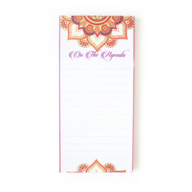Mandala Task Lists _ Magnetic To Do Lists _ Personalised stationery Mandala Wedding Stationery _ Ring Binders, Folders, Planners by The Craftables
