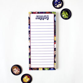 Marvellous Avengers listpads and to do lists by The Craftables