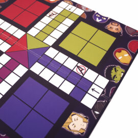 Marvellous Ludo Board game for family | Avengers game ideas | The Craftables