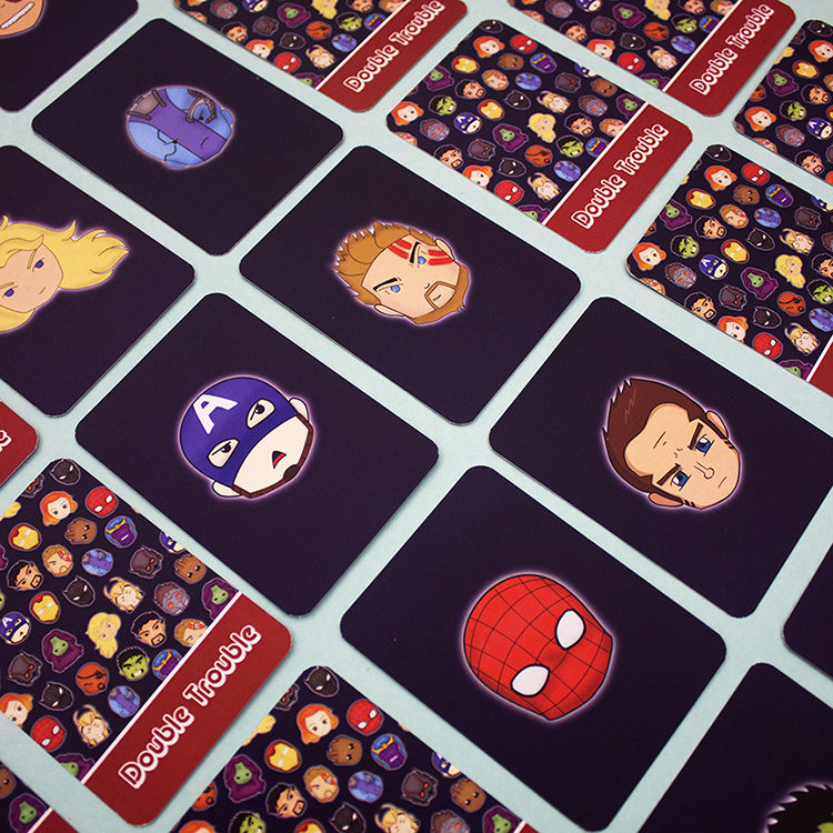 Marvellous Matching Card game | Avengers buy card games online | The Craftables