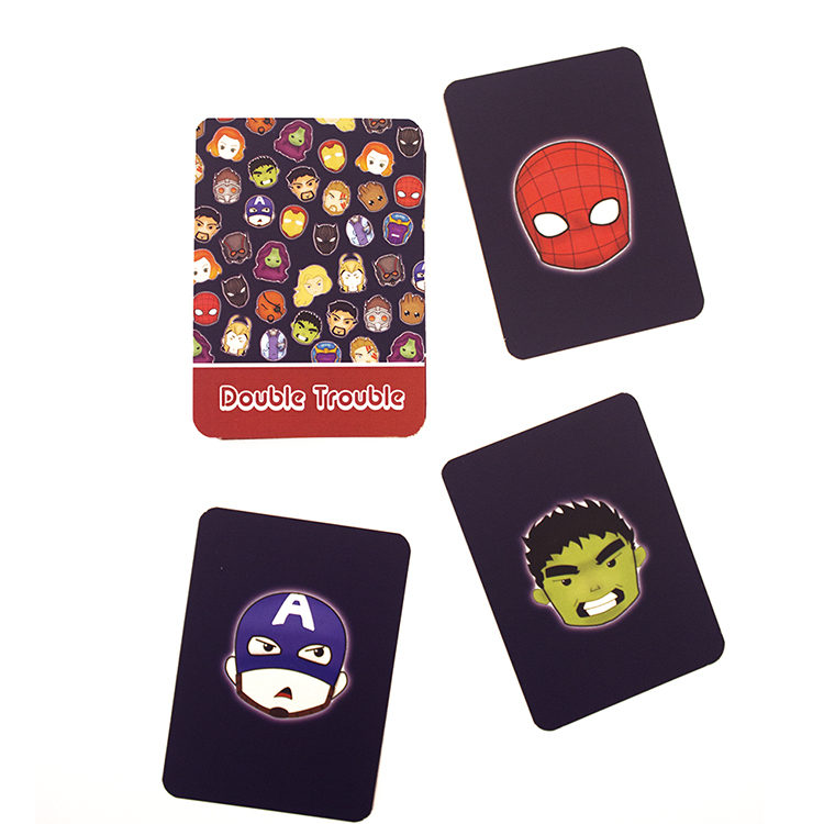 Marvellous Matching Cards | fun card games | Avengers doodles | The Craftables