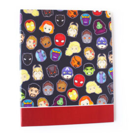 Marvellous Superhero themed avengers endgame ring folder by The Craftables