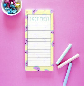 Melon Fresh Summer Fruity To Do Lists _ Magnetic Listpads by The Craftables