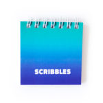 Ombre Ocean Mini Notepads _ Small cute notebooks _ Personalised lists by The Craftables