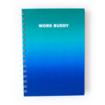 Ombre Ocean Notebook _ Customised journals by The Craftables