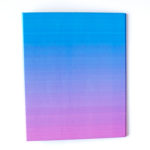 Ombre Ring Folders by The Craftables _ Shaded Dreamy Purple and Blue