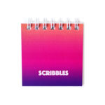 Ombre Sundowner Personalised Mini Notepad _ Small notebooks by The Craftables