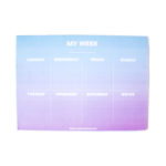 Ombre Weekly Planner _ Dreamy shaded designs _ Organizers and planners by The Craftables