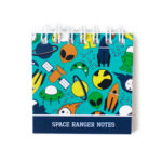 Space Ranger Mini notepad | Stationery for Kids by The Craftables