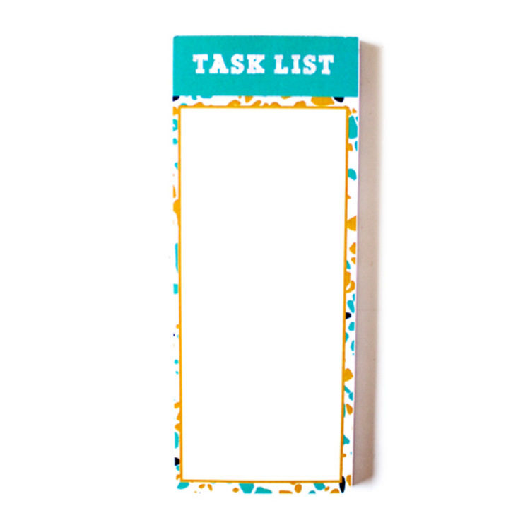Terrazzo Task List | Personalised stationery sets by The Craftables