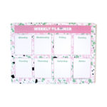 Terrazzo Weekly Planner | Customised cover | Personalised organizers by The Craftables