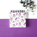 Wallflower Lavender Mini | Small Pocket Notebook by The Craftables