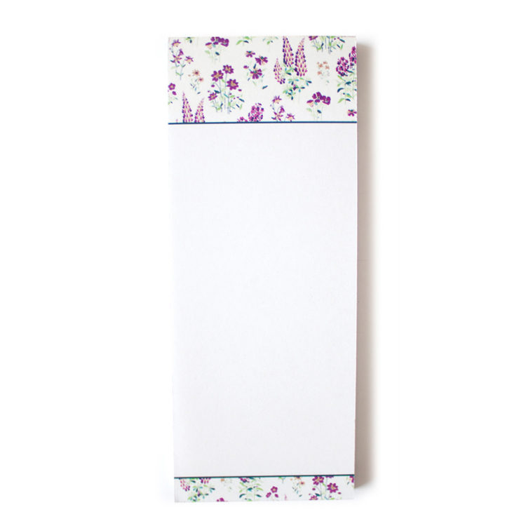 Wallflower Lavender Tear Off Lists | Purse Bookmark Listpads by The Craftables