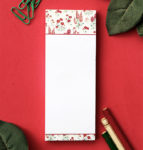 Wallflower Rose Bookmark Listpad | DIY Stationery by The Craftables