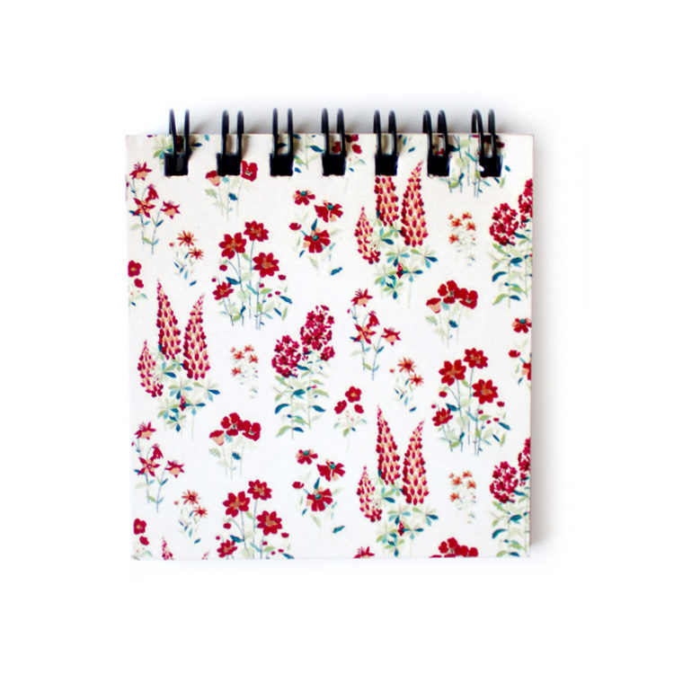 Wallflower Rose Mini Lists | Floral Mini Notepads by The Craftables
