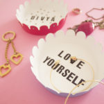 DIY Personalised Platters Kit by The Craftables | handmade ring dishes