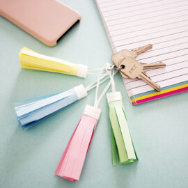 DIY tassel keychain kit by The Craftables | Online shopping for papercraft ideas