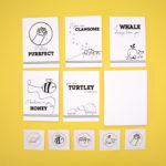 Do it yourself craft idea for all ages | Animal themed Colouring Cards Set | The Craftables Activities