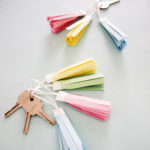Do it yourself paper craft idea | Tassel keychain kit by The Craftables