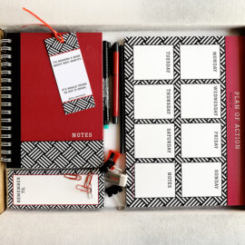 Hashtag Stationery set | Gifts for Her and Him | Corporate Kits | The Craftables