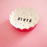 Personalised Platters by The Craftables | DIY storage dishs for your desk | Customise craft