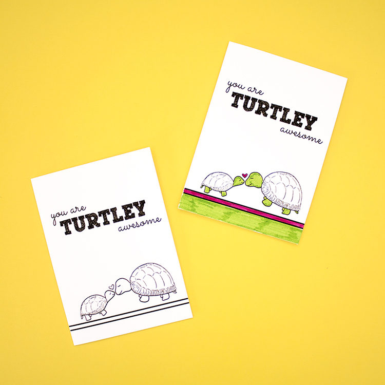You're Totally Awesome | Compliment Pun Cards | Zoological DIY Card Set by The Craftables
