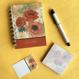 Amber rakhi Gift Set for Her | The Craftables Stationery Limited Edition