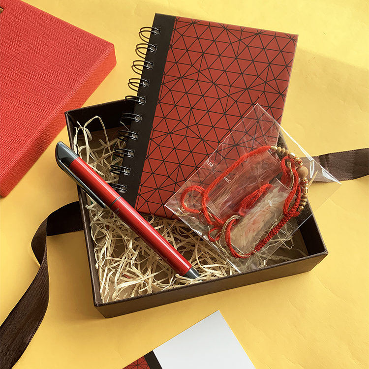 Griddy rakhi Gift Set for Men| Stationery sets | The Craftables Stationery Limited Edition