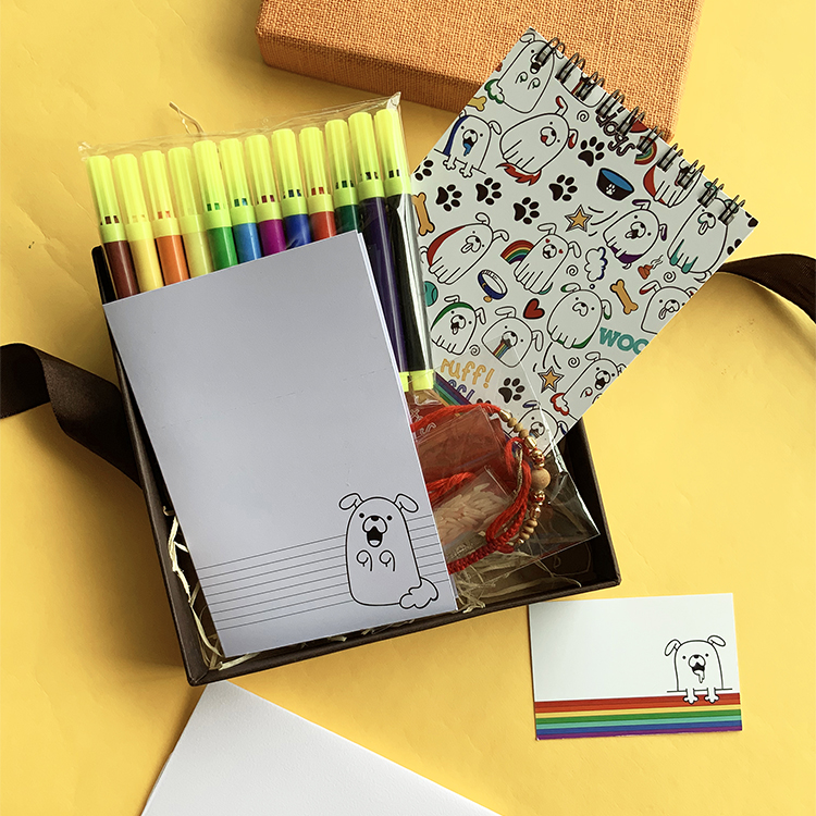 Puppers Stationery Set