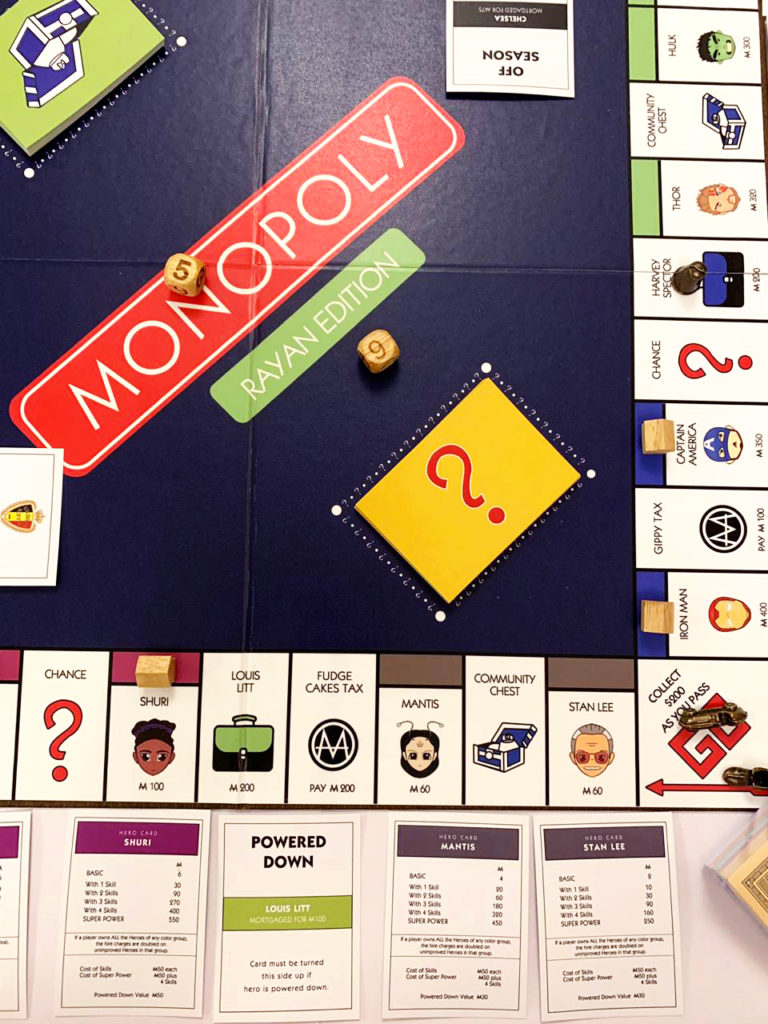 Personalised Monopoly Game Idea | Order Online with The Craftables