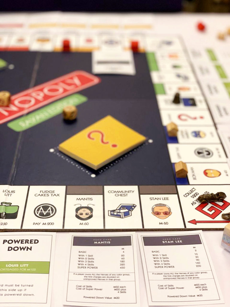 Personalised Monopoly Game with custom parts | The Craftables