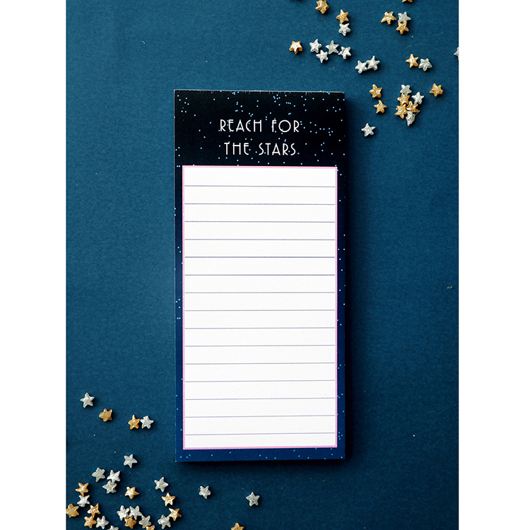 Stargazer magnetic to do list | Customised notepad | magnetic tear off pages | The Craftables