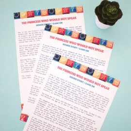 Print and play Story Housie at Home!