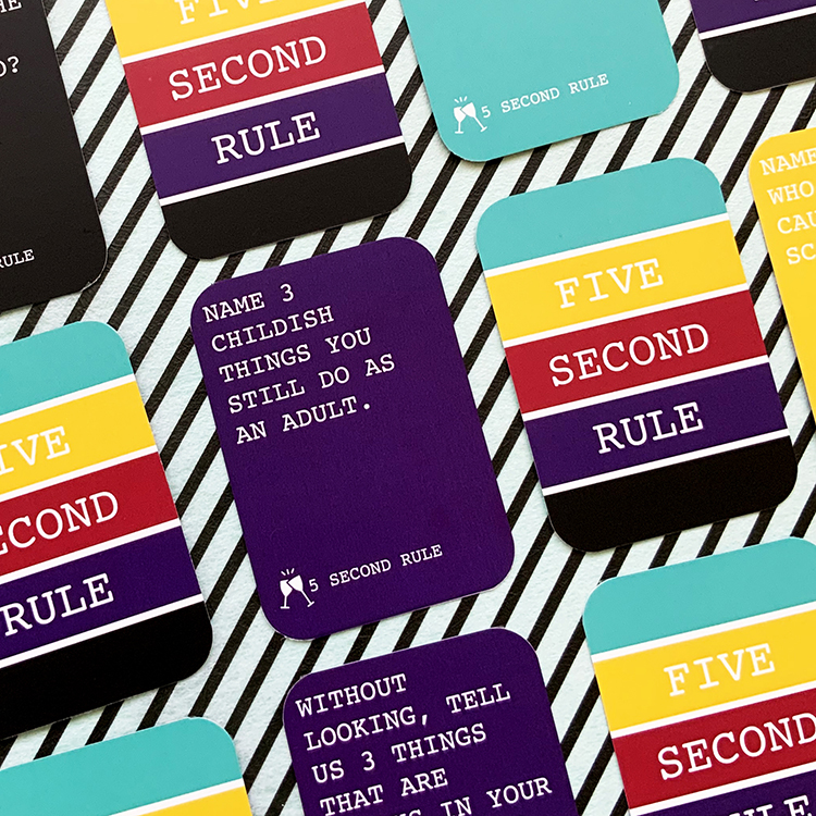 5 Seconds Rule Card Game | Games for adults | Games for kids | The Craftables Games 2