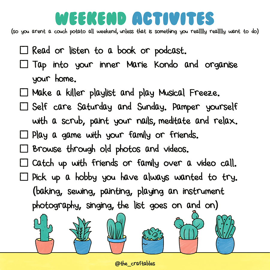 Activities to do with kids | Activities to do at home | Weekend plans during quarantine | The Craftables