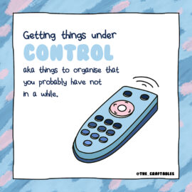 Get things under control with Organisation Checklist for your home