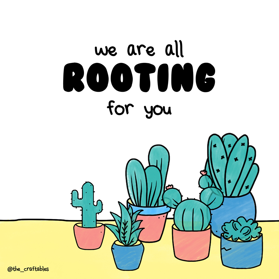 We are all rooting for you : Weekend activities ideas