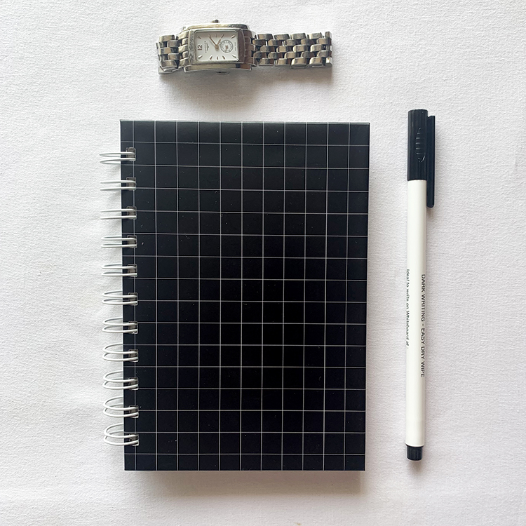 Griddy Minimal Notebooks with simple design | Gifting ideas for colleagues | The Craftables stationary