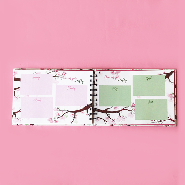 Anniversary Book Pages for couples | Newlywed gift ideas from friends and family by The Craftables